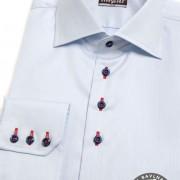 Pánská košile SLIM dl.rukáv, modrá