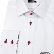 Pánská košile SLIM dl.rukáv, bílá
