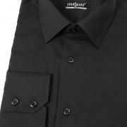 Pánská košile SLIM , v23-černá