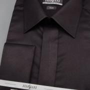 Pánská košile SLIM kr.léga, MK, černá