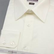 Pánská košile SLIM s dl.ruk., v2-smetanová