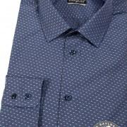 Pánská košile REGULAR dl.rukáv, modrá