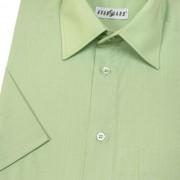 Pánská košile KLASIK s kr.ruk., v8-zelená