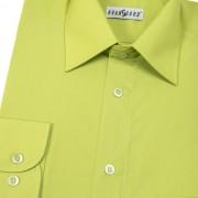 Pánská košile KLASIK s dl.ruk., v30-kiwi