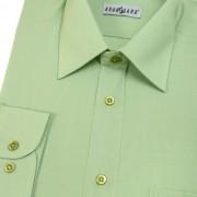 Pánská košile KLASIK s dl.ruk., zelená