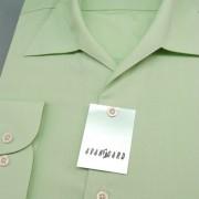 Pánská košile s rozhalenkou, dl.rukáv, zelená