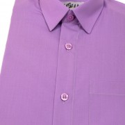 Chlapecká košile KLASIK, v38-fialová