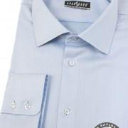 Pánská košile KLASIK dl.rukáv, modrá