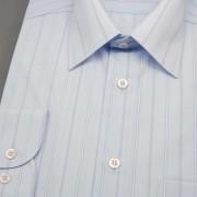 Pánská košile AVANTGARD dl. ruk., v07-modrá