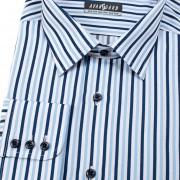 Pánská košile AVANTGARD dl. ruk., modrá
