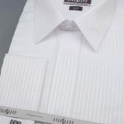 Pánská košile SLIM krytá léga, MK, 2111 - bílá