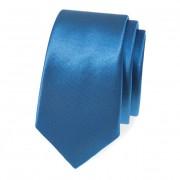Kravata SLIM AVANTGARD, modrá