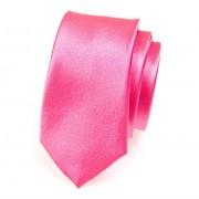 Kravata SLIM AVANTGARD, růžová