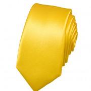 Kravata SLIM AVANTGARD, žlutá