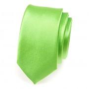 Kravata SLIM AVANTGARD, zelená