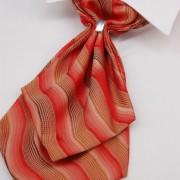 Plastron + kapesníček, červená