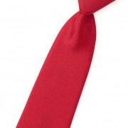 Chlapecká kravata, 758-červená mat