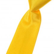 Chlapecká kravata, žlutá