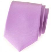 Kravata AVANTGARD, fialová mat