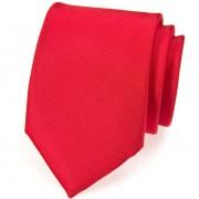 Kravata AVANTGARD, červená mat