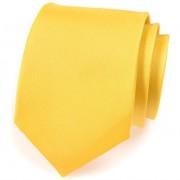 Kravata AVANTGARD, žlutá mat