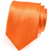 Kravata AVANTGARD, oranžová