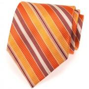 Kravata AVANTGARD LUX, oranžová