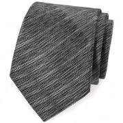 Kravata AVANTGARD LUX, černá/šedá