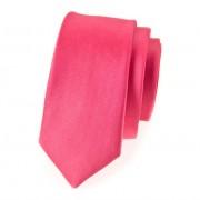 Kravata SLIM AVANTGARD LUX, růžová