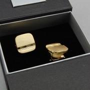 Manžetové návleky na knoflíky AVANTGARD, zlatá