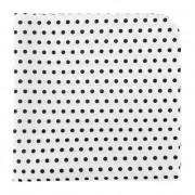 Kapesníček AVANTGARD LUX, bílá s černými puntíky