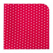 Kapesníček AVANTGARD LUX, červená s bílými puntíky