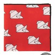 Kapesníček AVANTGARD LUX, červená liška/origami