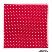 Kapesníček AVANTGARD LUX, červená s bílým puntíkem