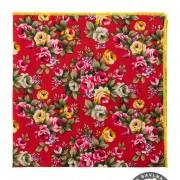 Kapesníček AVANTGARD LUX, červená/květ