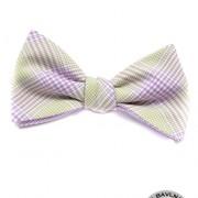Vázací motýlek bavlněný, fialová