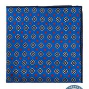 Kapesníček hedvábný PREMIUM, modrá