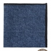 Kapesníček vlněný PREMIUM, modrá