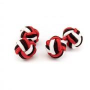 Knots - manžetové uzlíky AVANTGARD, černá