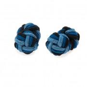 Knots - manžetové uzlíky AVANTGARD, modrá