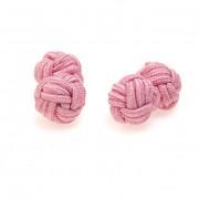 Knots - manžetové uzlíky AVANTGARD, růžová
