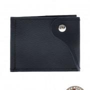 Pánská peněženka z pravé kůže, modrá