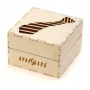 Dřevěná dárková krabička, přírodní dřevo
