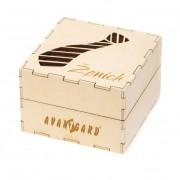 Dřevěná dárková krabička Ženich, přírodní dřevo