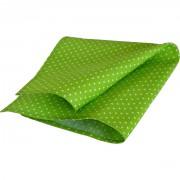 Kapesníček do saka zelený s puntíky
