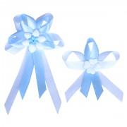 Vývazky světle modré