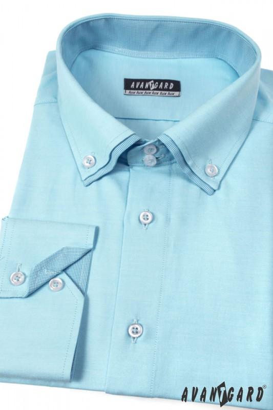 Pánská košile AVANTGARD LUX dl. ruk. 0169215a9a