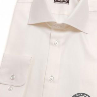 Pánská košile SLIM dl.rukáv, smetanová