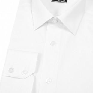 Pánská košile SLIM , v1-bílá