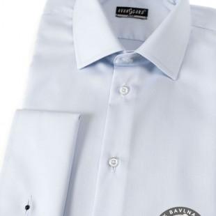 Pánská košile SLIM MK, modrá
